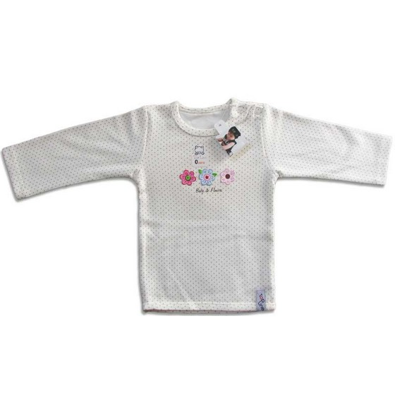 Baby Short Sleeves Round Collar