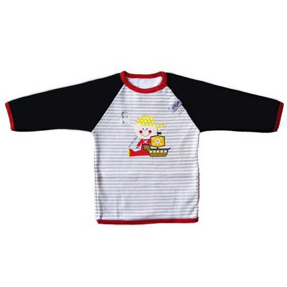 Baby Long Sleeves Round Collar
