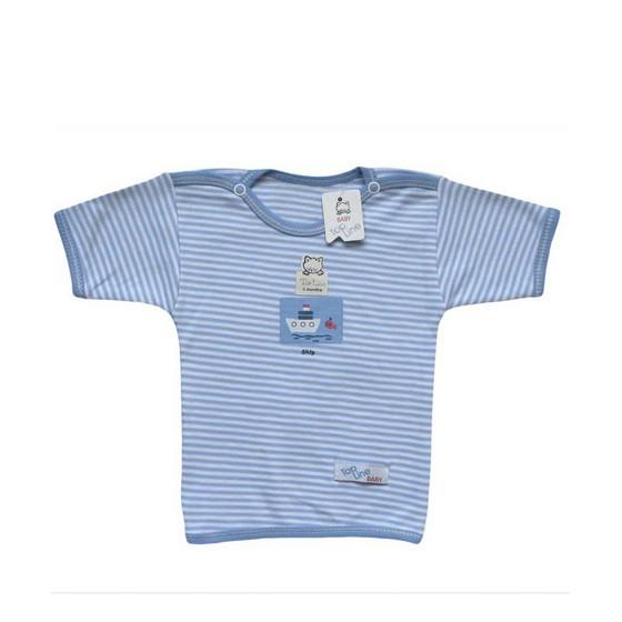 Baby Short Sleeves Round Collar